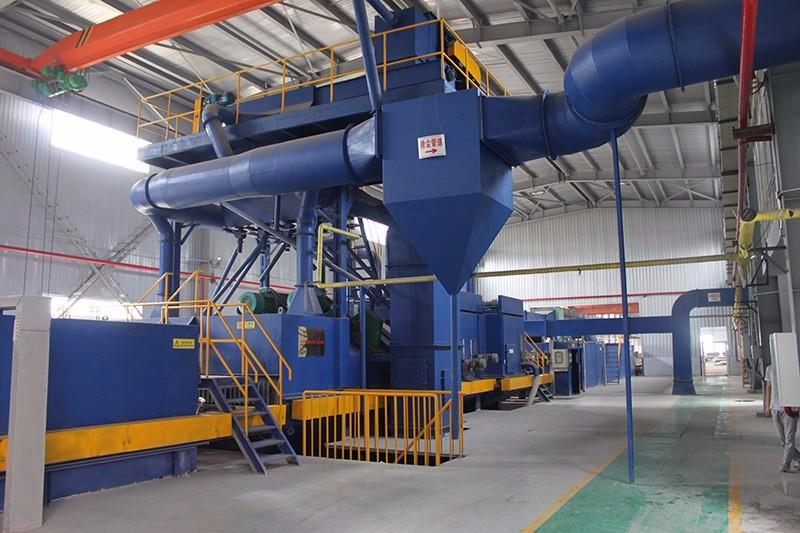 钢材预处理线 专业生产厂家