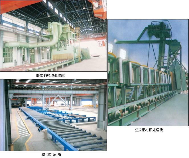 钢材预处理线厂