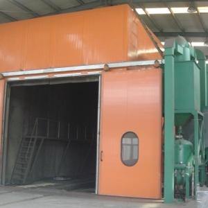 环保型气力回收喷砂房